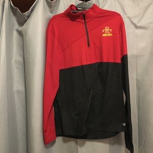Iowa State dri fit quarter zip